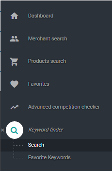 merch informer keyword finder