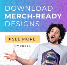 Download commercial-use Merch vectors here!