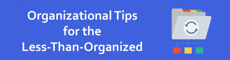 Organizational tips2